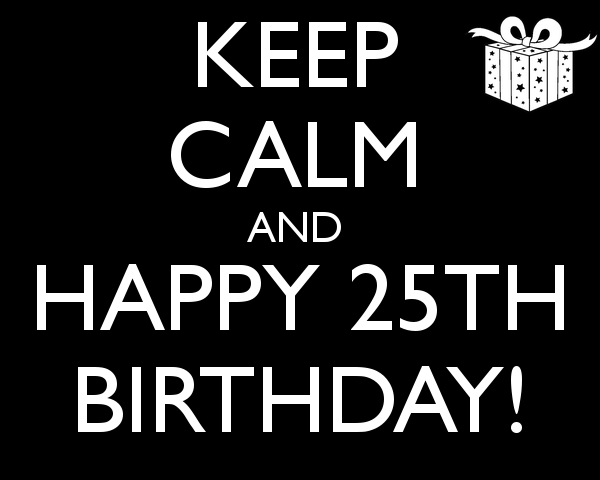 The best Happy 25th Birthday Images and Pictures for Men,For women, For Sisters, Facebook, Friends, Brothers and Family. Loving and funny birthday 25th images