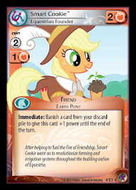 My Little Pony Smart Cookie, Equestrian Founder Marks in Time CCG Card
