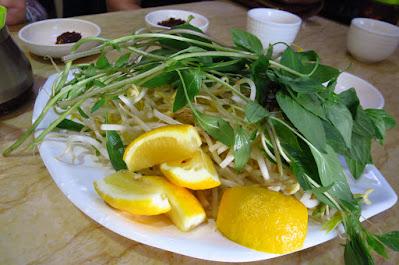 Melbourne, Pho No. 1, basil lemon bean sprouts