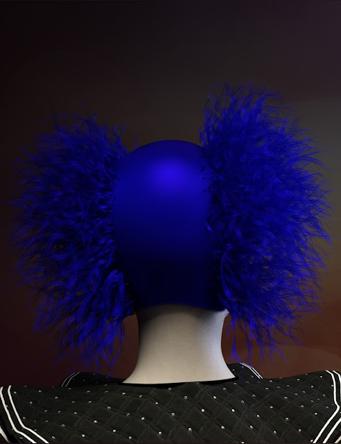 Clown Wigs for Genesis 3 Male and Female