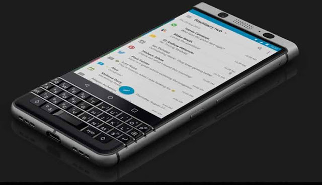 Blackberry Key2 smartphone