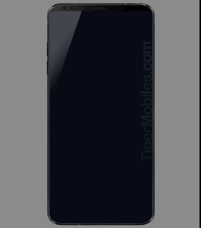 صورة مسربة تظهر تصميم هاتف LG G7 المرتقب بشاشة بلا حدود