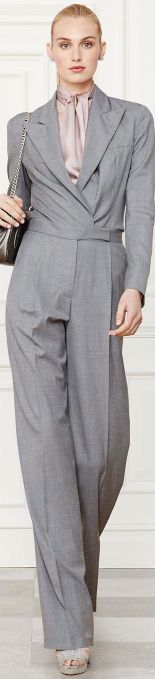 Ralph Lauren Apparel Victoria Jumpsuit Fall 2014 Collection
