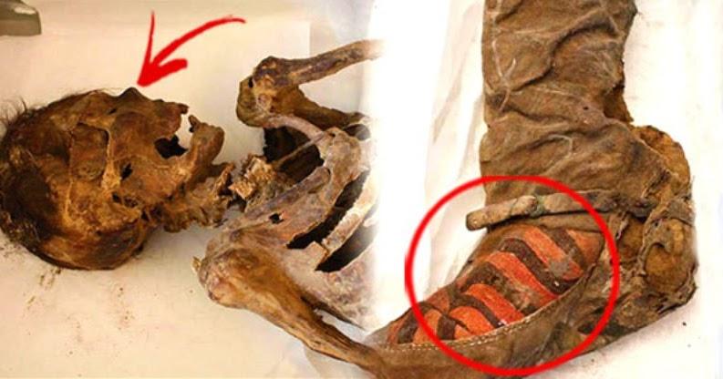 mumi wanita cantik yang meninggal 1500 tahun lalu ini