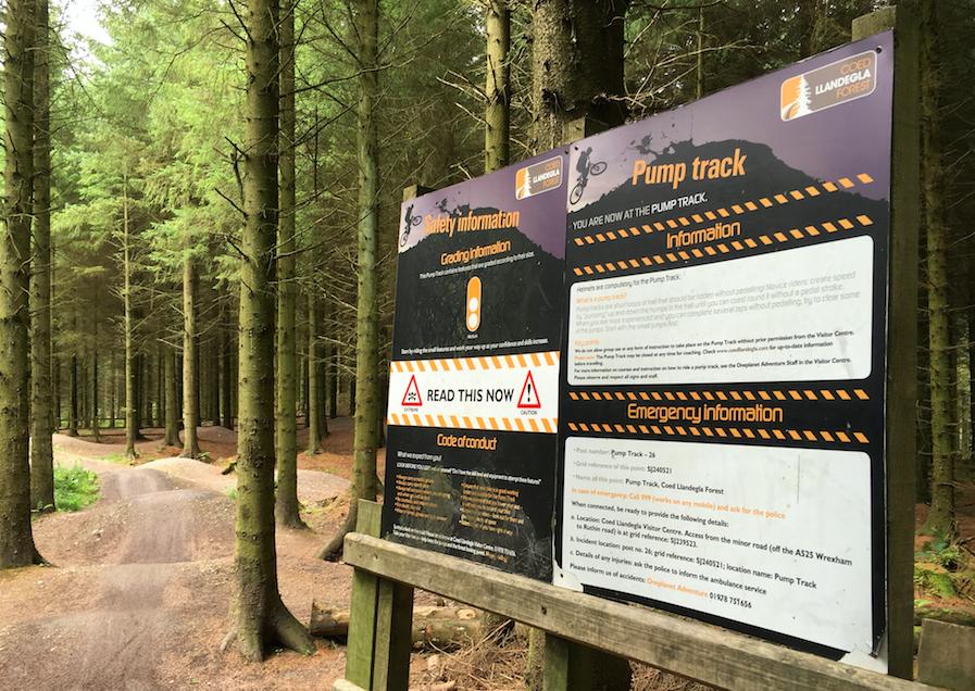 FitBits | Mountain biking in Wales | Llandegla pump track