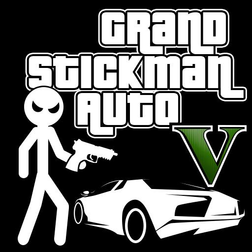 تحميل لعبة Grand Stickman Auto V مهكرة نقود لا نهاية