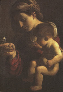 Guercino's Madonna del Passero is part of the Pinacoteca Nazionale collection