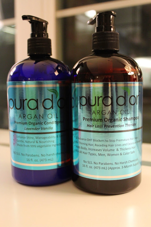 Argan Oil-based Hair Care: Pura D'Or