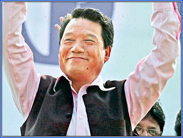 GJM President Bimal Gurung Happy
