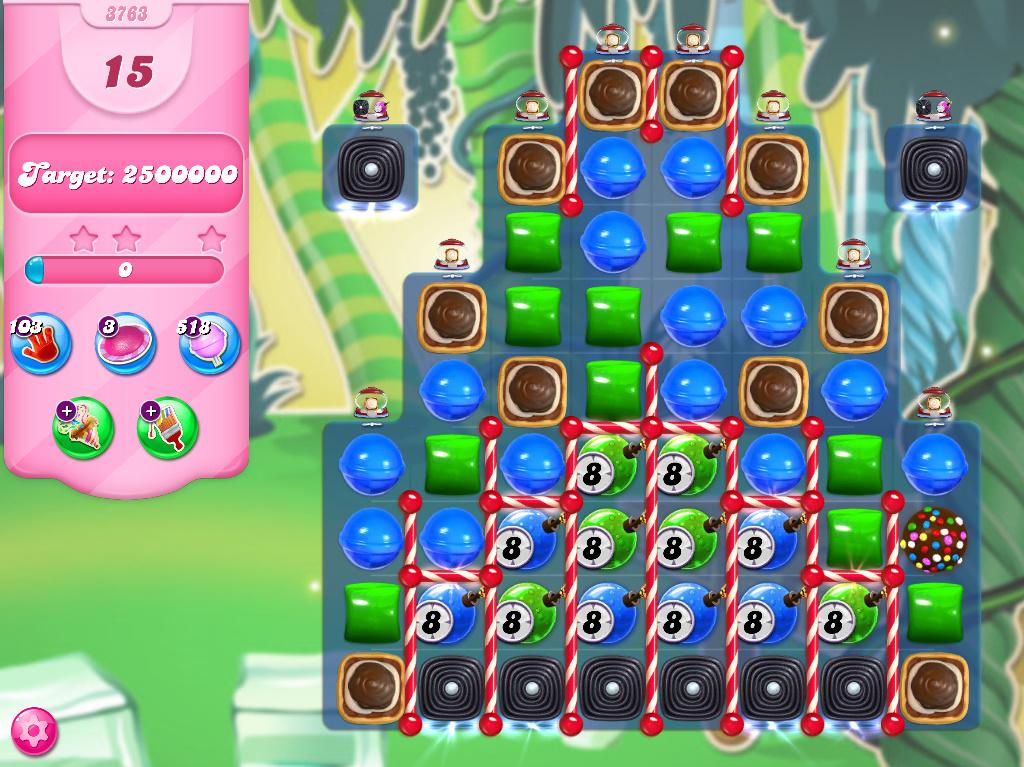 Candy Crush Saga level 3753