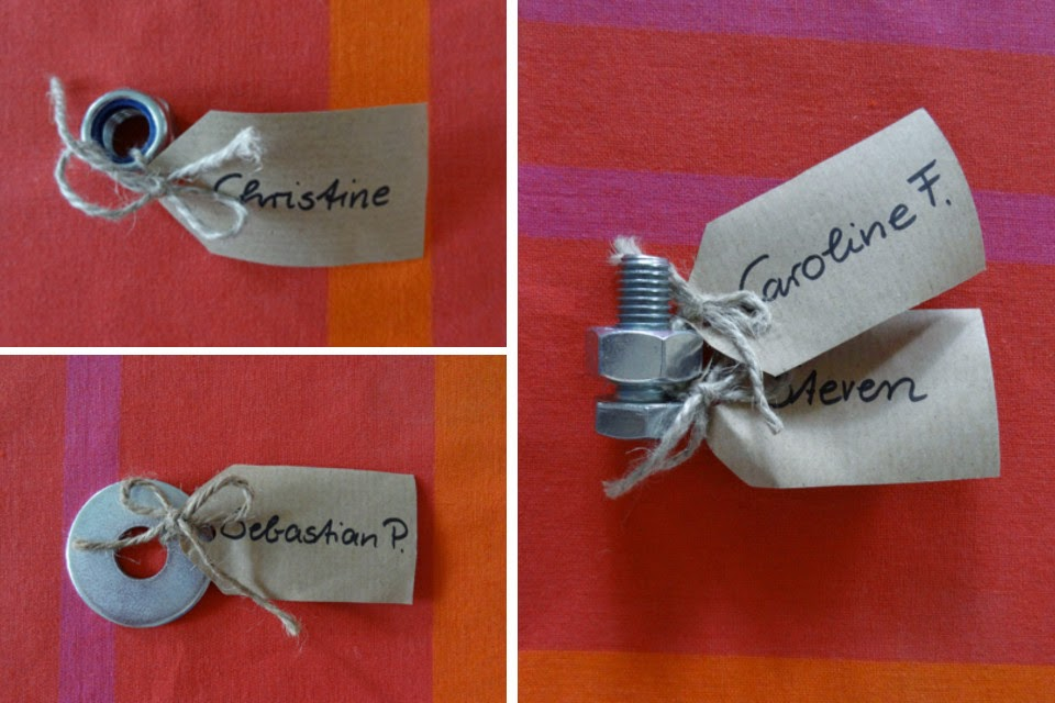 Steffi S Hochzeitsblog Maschinenbau Tischkarten Zur Hochzeit