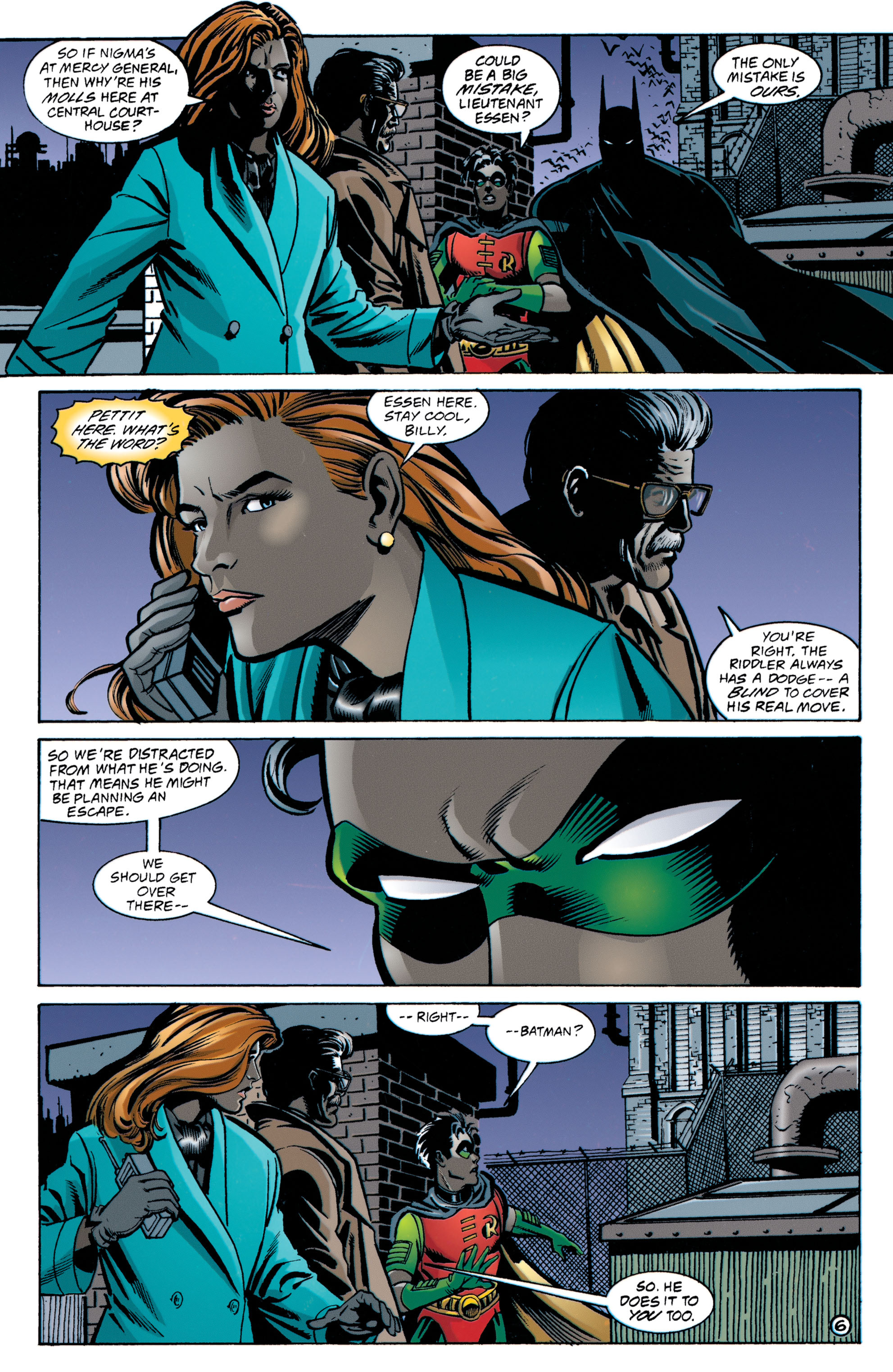 Detective Comics (1937) 705 Page 6
