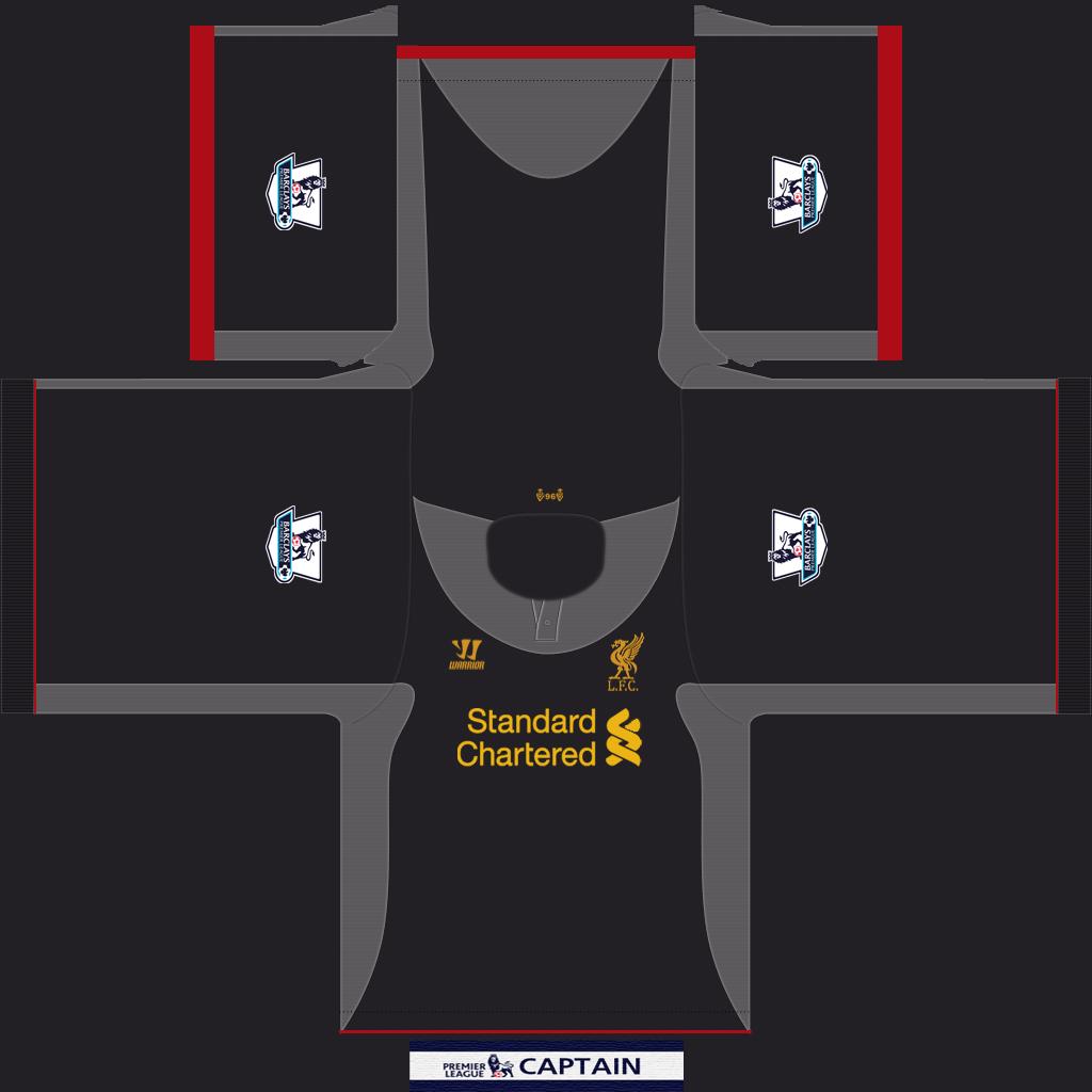 half off 7ed13 02a24 FIFA 13 Football Gears: Liverpool FC 2012/13 Away Kit