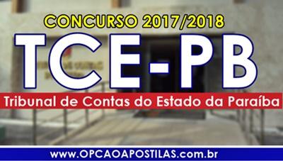 Apostila Concurso TCE-PB 2017