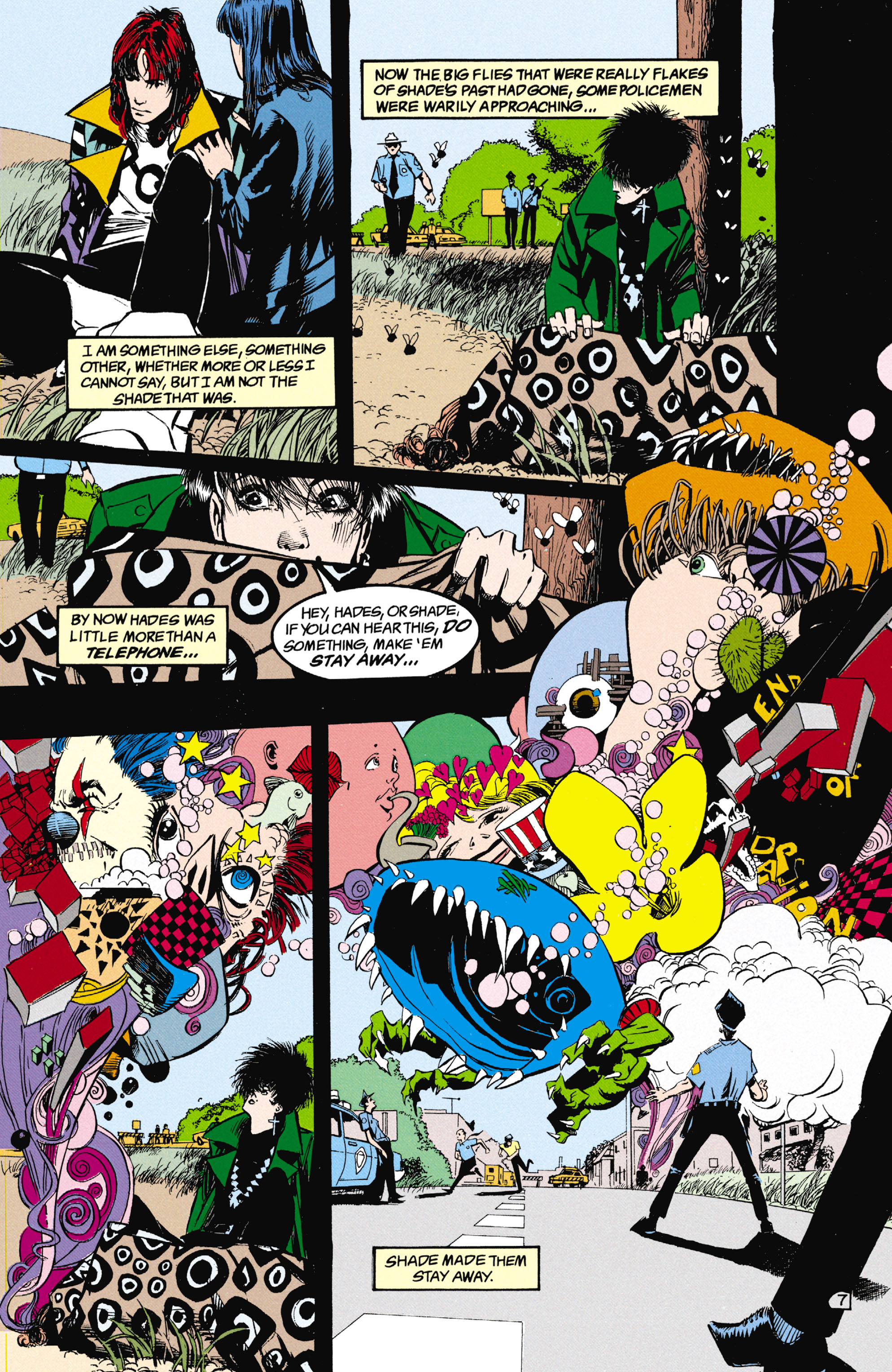 Read online Shade, the Changing Man comic -  Issue #25 - 8