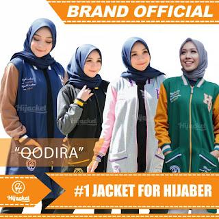 Jaket Muslimah Hijacket Qadira Lengkap