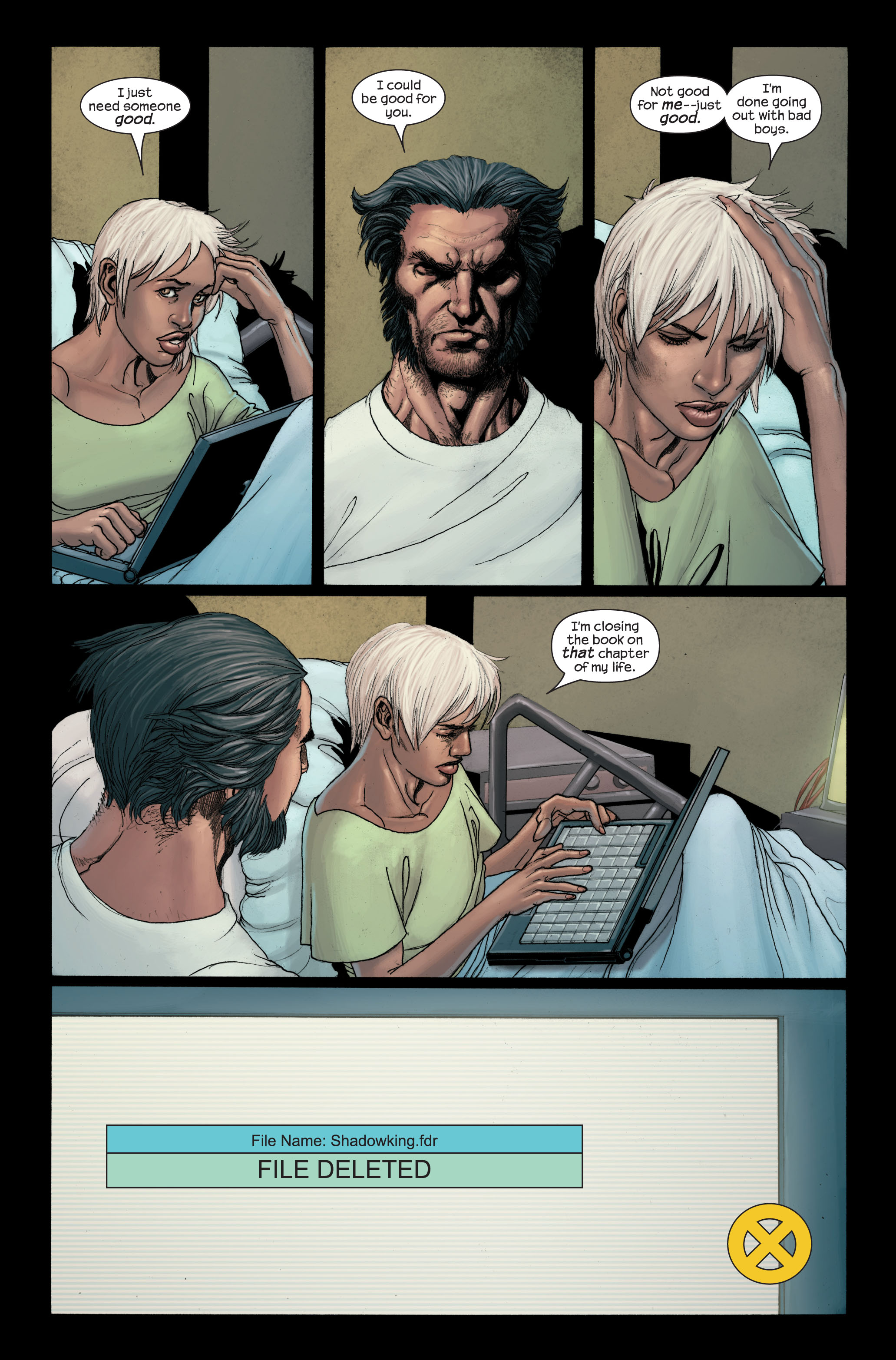 Read online Ultimate X-Men comic -  Issue #89 - 21
