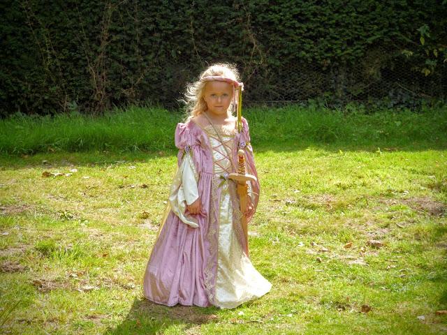 England's Medieval Festival Herstmonceux 2016 princess