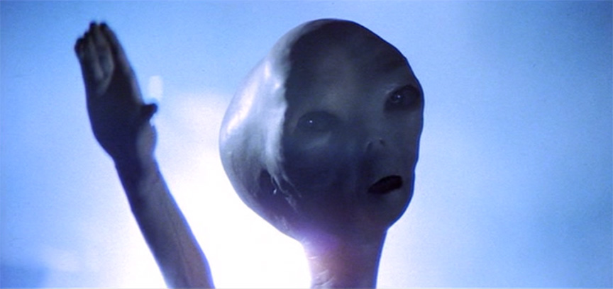 Woodland Shoppers Paradise: Roy Neary Was An Alien!