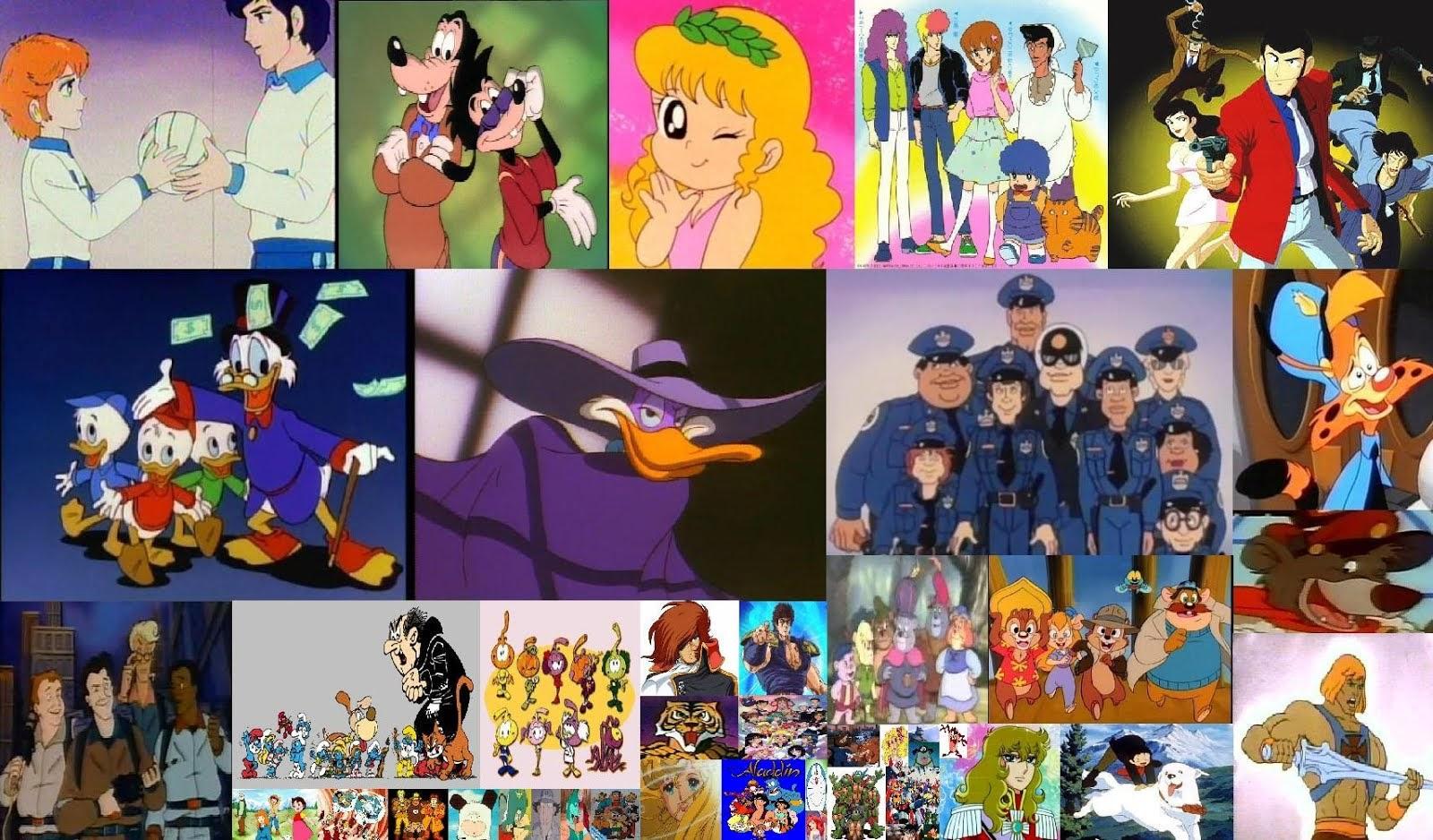 Cartoni animati u migliori pagine da colorare