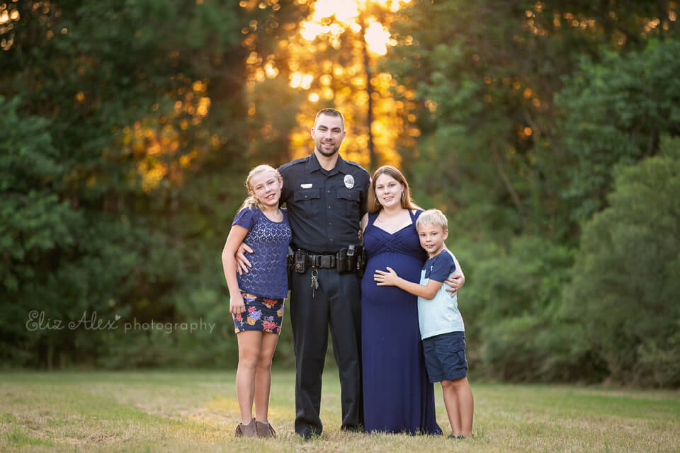 woodlands police family