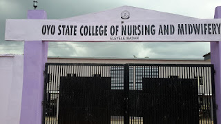 Oyo State College of  Nursing & Midwifery, Eleyele Admission Form - 2018/2019