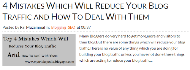 Top 4 Easy Tips For Writing Effective Blog Post Titles For Getting High Traffic -title should be long