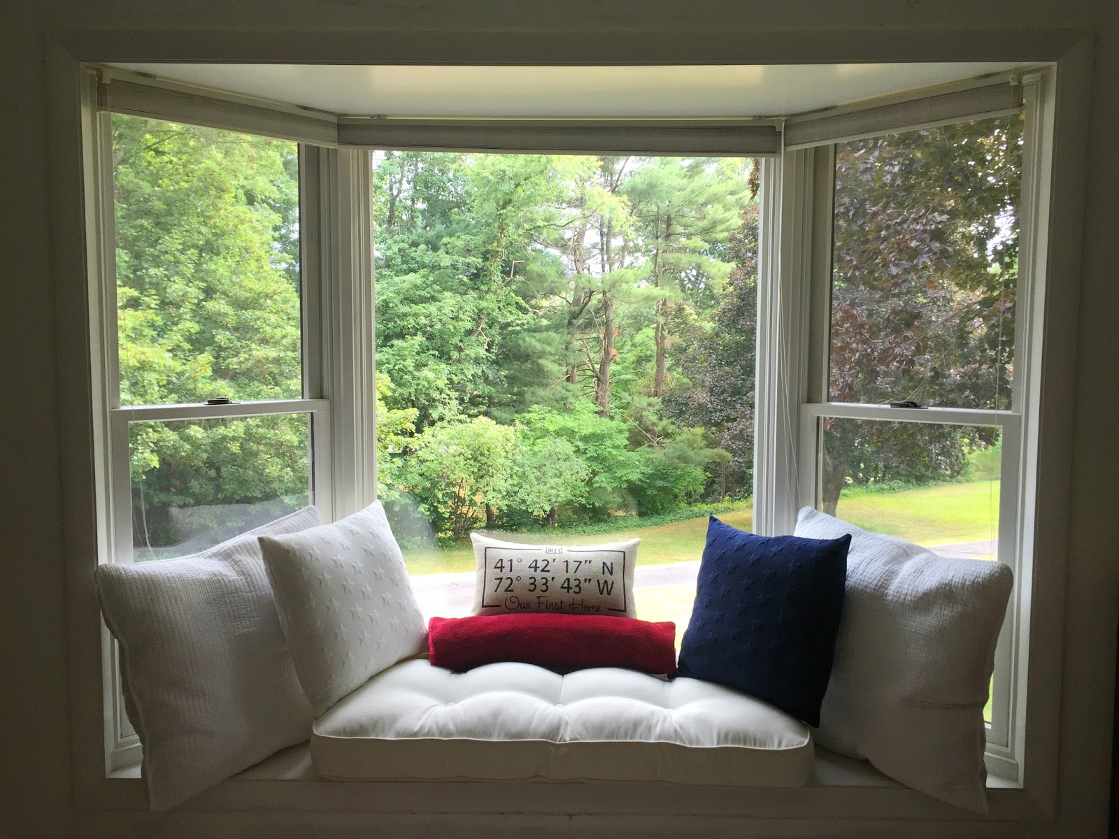 Drew Danielle Design Create A Comfy Bay Window Seat