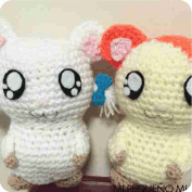 Hamtaro y Lasitos a Crochet