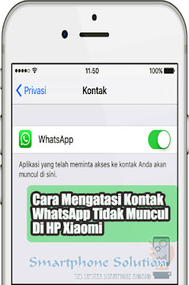 cara mengatasi kontak whatsapp tidak muncul di xiaomi