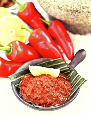 Resepi sambal belacan simple
