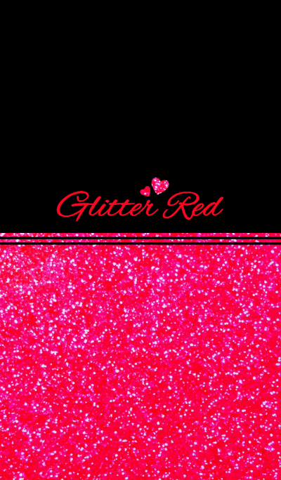 Glitter red theme...