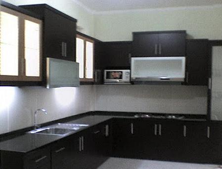 Disain Interior Dapur Minimalis Proyek Sipil