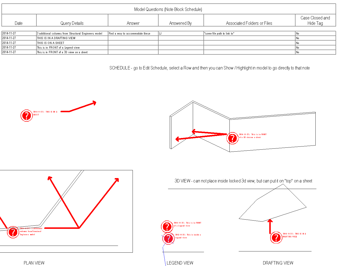 What Revit Wants: Intelligent Issue Tracking in Revit, with download