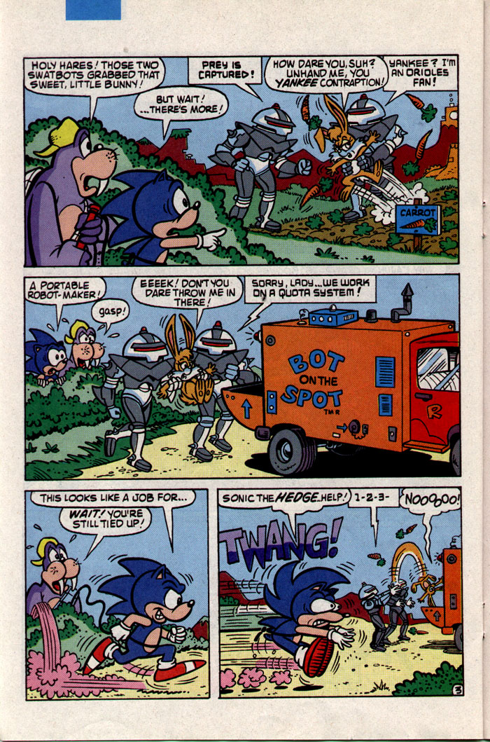 Read online Sonic The Hedgehog comic -  Issue #3 - 18