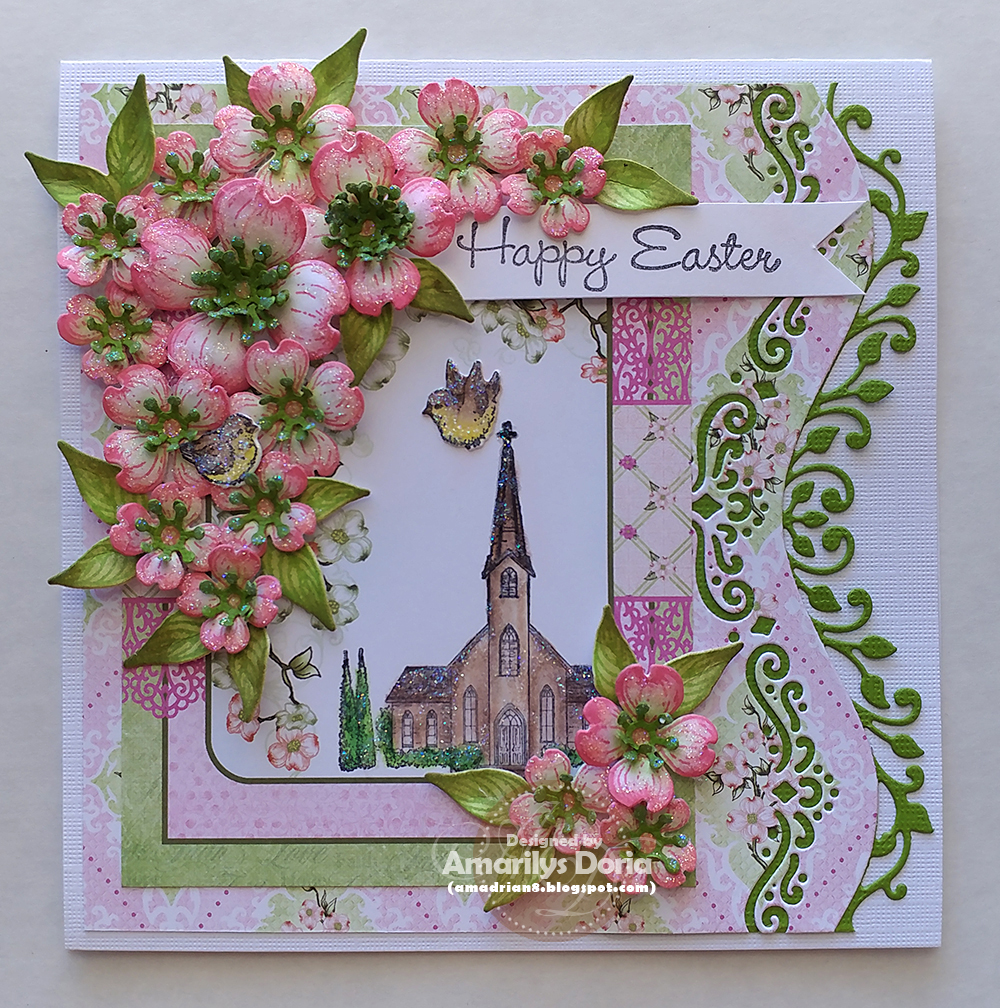 Heartfelt Creations Delicate Border Basics Die HCD1-7118