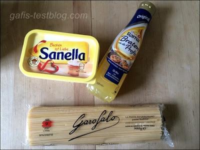 Sanella, Rama Braten wie die Profis un Garofalo Spaghetti