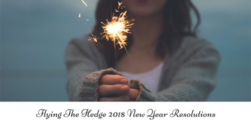 Hedge Riding for New Year's Resolutions + Release Ritual