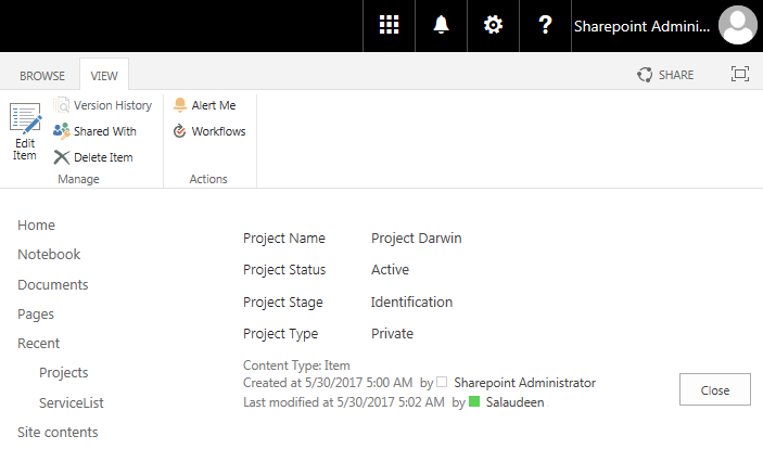 sharepoint online powershell update list item