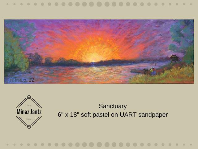 Sanctuary Soft Pastel by Minaz Jantz
