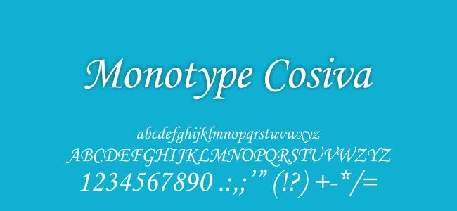 Kumpulan Font Undangan - Monotype Corsiva Font