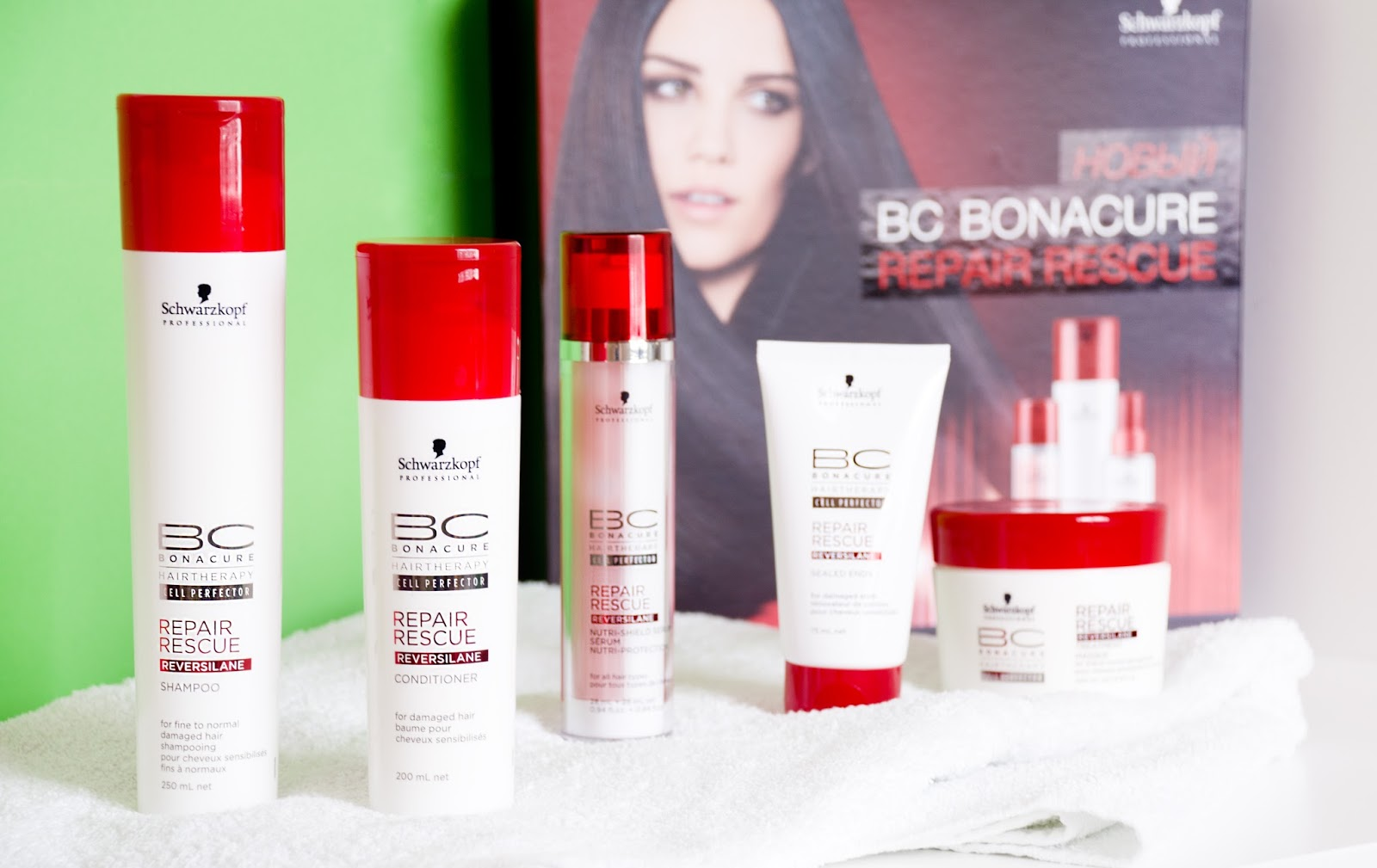 Schwarzkopf Professional BC Repair Rescue отзывы