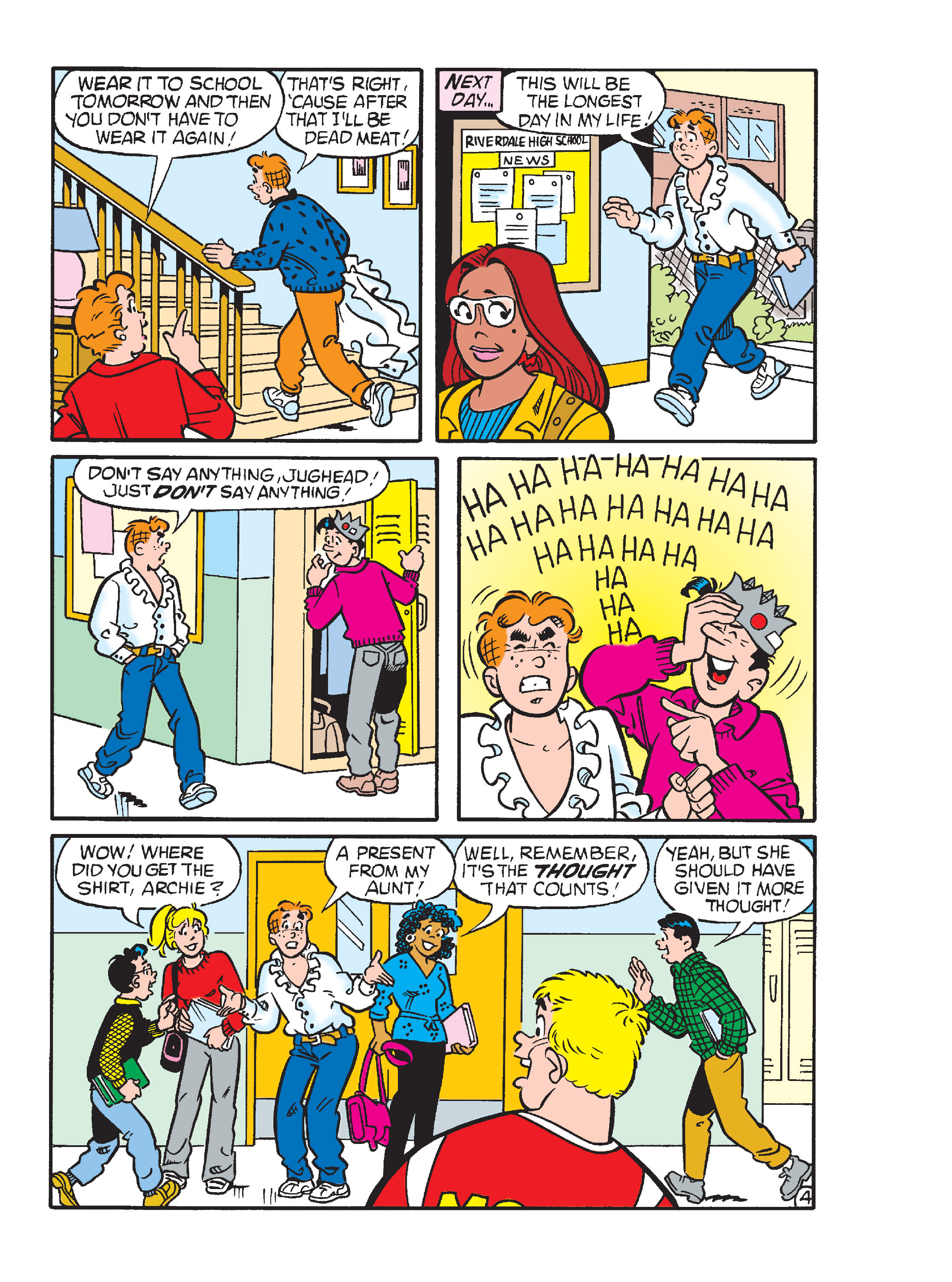 Read online Archie 1000 Page Comics Blowout! comic -  Issue # TPB (Part 4) - 225