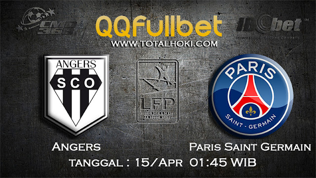PREDIKSIBOLA - PREDIKSI TARUHAN ANGERS VS PARIS SAINT GERMAIN 15 APRIL 2017 (LIGUE 1)