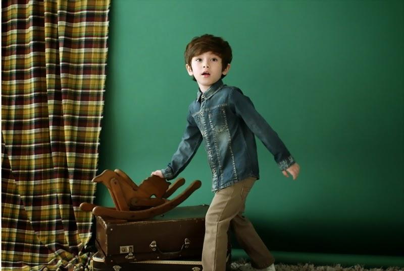 Foto Dennis Kane bocah paling ganteng di dunia cool banget