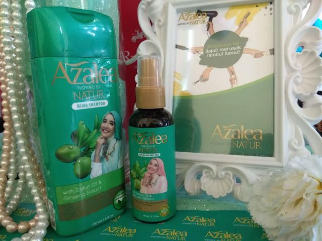 Tetap Fresh Sepanjang Hari Dengan Azalea Hair Hijab Body Mist
