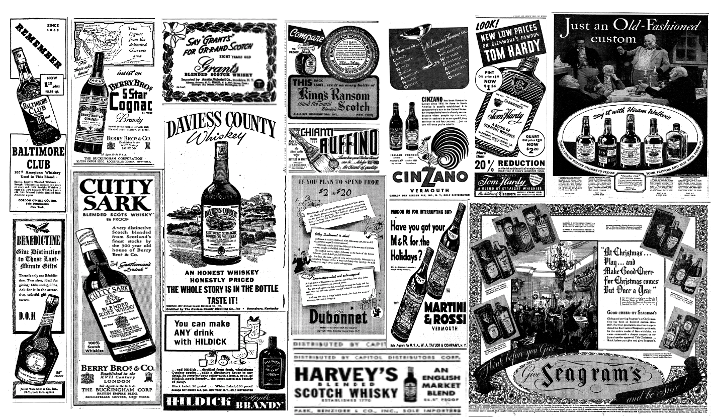 Sisco Vanilla Serves and Drinks  Liquor Ads from the New York Times ... 175dbea06