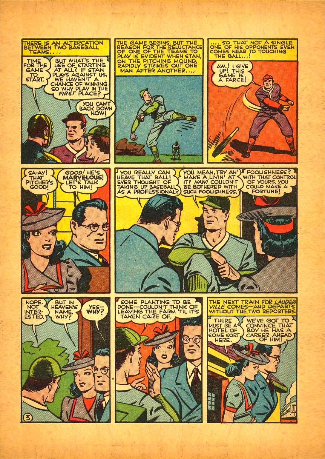 Read online Action Comics (1938) comic -  Issue #50 - 5