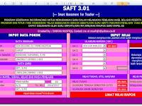 Aplikasi Program Penilaian Hasil Belajar Siswa dan Analisis Format Excel 2011
