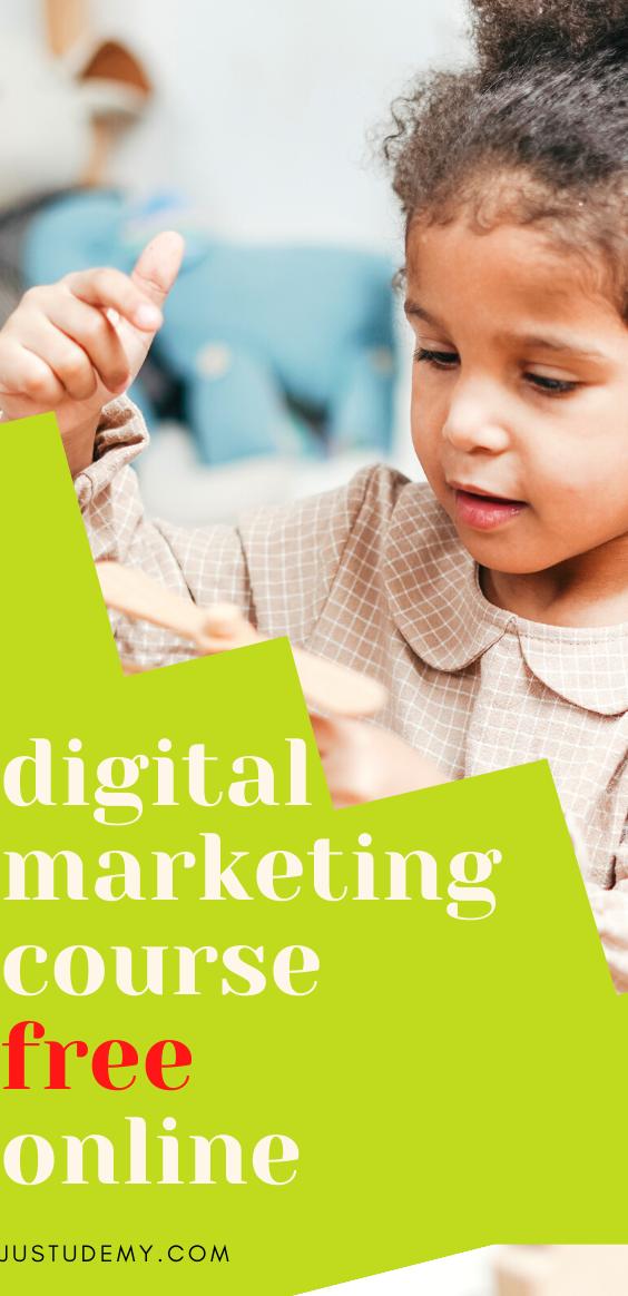 udemy digital marketing course free